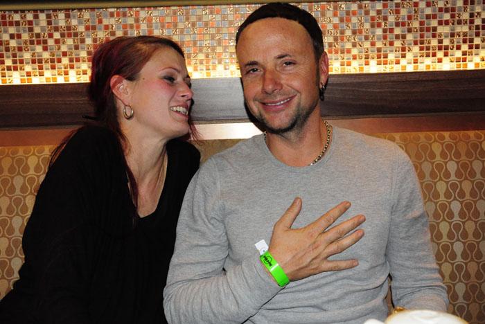 Skunk Anansie rockt das Hard Rock Café am Kudamm mit Joana