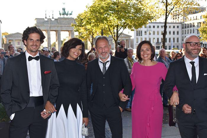 Gerhardt Schroder Soyeon Kim Feiern Hochzeit Mit Klaus Meine