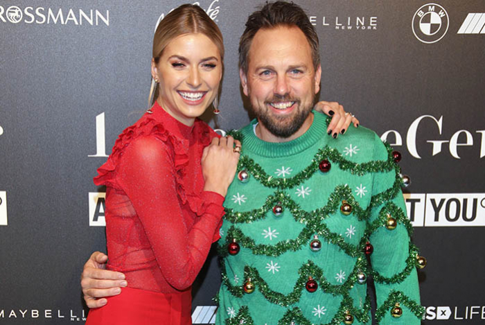 Lena Gercke Ladt Zum Christmas Dinner Vernissage Mit Till